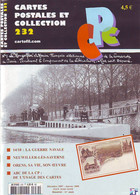 CARTES POSTALES Et COLLECTION N: 232 . ORENS Sa Vie Son Oeuvre . GUERRE NAVALE 14/18 . NEUWILLER Les SAVERNE . - French