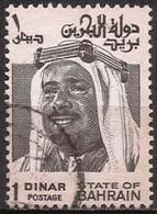 Bahrain - Fx. 128 - Yv. 252 - 1 D. Sheik Isa Ben Salman - 1976 - Ø - Bahreïn (1965-...)
