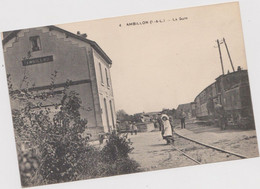 Ambillon   ( 37 ) La Gare - Non Classificati