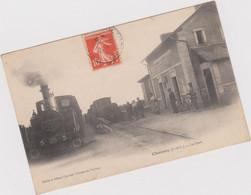 Channay  ( 37 ) La Gare - Non Classificati