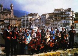 ►    CPSM   Corse I Macchiaghioli  Groupe Folklorique Bastia - Other Municipalities