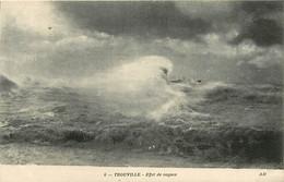 14 - Trouville - Effet De Vagues - CPA - Carte Neuve - Voir Scans Recto-Verso - Trouville
