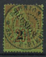Reunion (1891) N 31 I (o) - Gebruikt