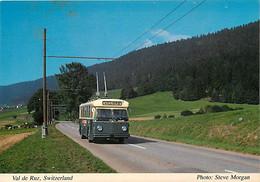 Automobiles - Bus - Autocar - Suisse - Switzerland - Val De Ruz - CPM - Voir Scans Recto-Verso - Buses & Coaches