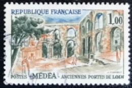 France - République Française -  P5/46 - (°)used - 1961 - Michel 1371 - Médéa - Usados