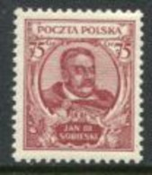 POLAND 1930 Johann III Sobieski MNH / **. Michel 264 - Unused Stamps