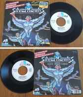 "RARE French SP 45t RPM (7"") BO TV ""SILVER HAWKS"" (Bernard Minet, TF1, 1988) - Soundtracks, Film Music"