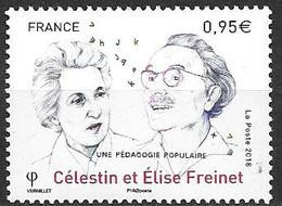 France 2018 N° 5269 Neuf Célestin Et Elise Freinet à La Faciale +10% - Unused Stamps