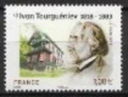 France 2018 N° 5283 Neuf Ivan Tourguéniev, à La Faciale + 10% - Unused Stamps