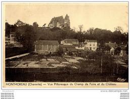 CPA (Réf :L116) MONTMOREAU (16 CHARENTE) Vue Pittoresque Du Champ De Foire Et Du Château - Sin Clasificación