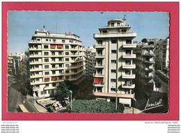CPA (Réf: T- 577) ALGER 301 - Rue Michelet Vers Le Parc De Galand (AFRIQUE   ALGÉRIE VILLES) (traction - Alger