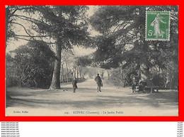 CPA (16)  RUFFEC.  Le Jardin Public, Animé...S581 - Ruffec
