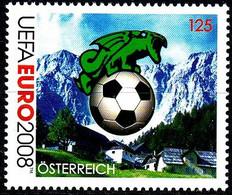 Soccer Football 2008 Austria #2724 UEFA European Championship MNH ** - Eurocopa (UEFA)