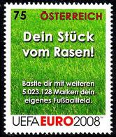 Soccer Football 2008 Austria #2733 UEFA European Championship MNH ** - Eurocopa (UEFA)