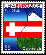 Soccer Football 2008 Austria #2726 UEFA European Championship MNH ** - Eurocopa (UEFA)
