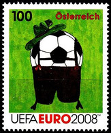 Soccer Football 2008 Austria #2727 UEFA European Championship MNH ** - Eurocopa (UEFA)