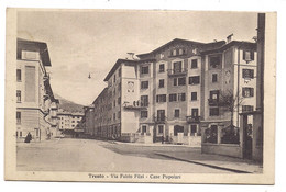 Trento , Via Fabio Filzi , Case Popolari - Trento