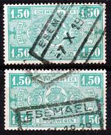"""TR 148 (2x)-  """"ESEMAEL"""" - 2 Verschillende Stempels - (34.582) - 1923-1941"""