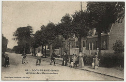 59 - B30163CPA - LOON PLAGE - Avenue Des Marronniers - Facteur - Parfait état - NORD - Unclassified