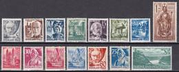 All. Besetzung Franz. Zone Rheinland Pfalz 1947 - Mi.Nr. 1 - 15 - Postfrisch MNH - Franse Zone