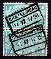 "TR 148 (paar/paire) -  ""CHATELINEAU"" - (34.591) - 1923-1941"