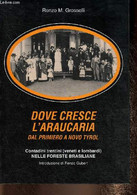 Dove Cresce L'Araucaria. Dal Primiero A Novo Tyrol. Contadini Trentini (veneti E Lombardi). Nelle Foreste Brasiliane. Pa - Altri