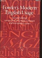 A Dictionary Of Modern English Usage - Fowler H.W. - 1965 - Dictionaries, Thesauri