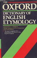 The Oxford Dictionary Of English Etymology - Onions C.T., Friedrichsen G.W.S., Burchfield R.W. - 1991 - Dictionaries, Thesauri