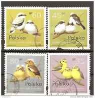 POLONIA POLAND POLSKA - 1995 UCCELLI 4v. - Sparrows