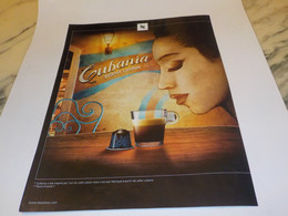 ANCIENNE  PUBLICITE CAFE CUBANIA DE NESCAFE  2011 - Posters