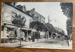 14 - CABOURG : Librairie CHEVALIER. Avenue De La Mer. - Cabourg