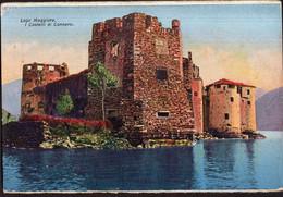Italia - Circa 1920 - Cartolina Postale - Lago Maggiore - Castelli Di Cannero - A1RR2 - Verbania