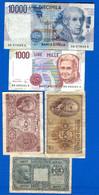 Italie  5  Billets - Unclassified