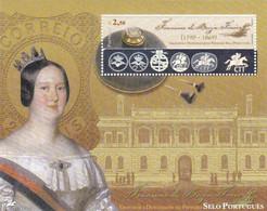 Portugal 2003  Bloco  Novo   -  150 Anos Do Primeiro Selo - Postmark Collection