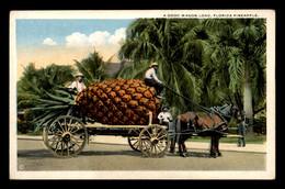 SURREALISME - A GOOD WAGON LOAD, FLORIDA PINEAPPLE - ANANAS GEANT SUR UNE CHARETTE - Other