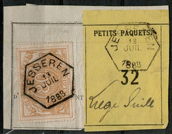 Va-3341  Provincie LIMBURG     Fragment Petit Collis  JESSEREN  Naar LIEGE GULL - Used