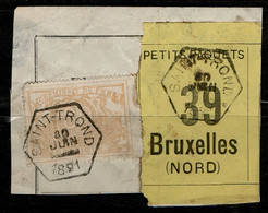 Va-3353  Provincie LIMBURG      Fragment Petit Collis  SAINT TROND    Naar  BRUXELLES NORD - Used