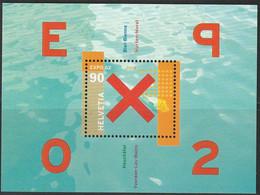 Schweiz Block Nummer 32 Postfrisch 2002 - Unused Stamps