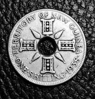 New Guinea 1 Shilling, 1938 Silver Rare - Papua New Guinea