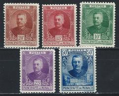MC5-/-245- N° 65/69, * *, COTE 4.00 €, VOIR IMAGE POUR DETAIL, IMAGE DU VERSO SUR DEMANDE, - Unused Stamps