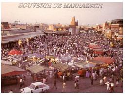 (UU 23)  Morocco - Marrackesh Market Place Djemaa El Fna - Mercati