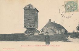Courcelles Le (Roy) Roi (45 Loiret) Le Vieux Moulin - édit. Portéhaut Circulée 1906 Boynes Boite Rurale B - Autres Communes