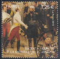 FRANCE 2015 BATAILLE DE HUNINGUE YT 4972 OBLITERE - Used Stamps