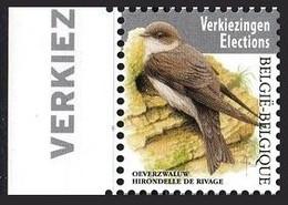 Belgium 2019.  Birds.  Fauna. Vogels.    MNH - Nuevos