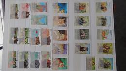 V72 Collection De S TOME E PRINCIPE, Bénin Et Autres En Timbres  Oblitérés D. A Saisir !!! - Collections (with Albums)