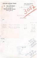 18402  1960  CHIFFONS METAUX Y BLANCHET A TROUVILLE SUR MER  - ROUSSEAU DEAUVILLE 50-1313 - 1950 - ...