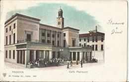 PADOVA CAFFE PEDROCCHI ANIMATA VIAGGIATA PRIMI 1900  (1518) - Caffé