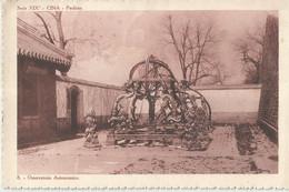 OSSERVATORIO ASTRONOMICO  SERIE IX  CINA PECHINO  VIAGGIATA 1927 (1519) - Astronomia