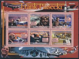 D - [400146]TB//**/Mnh-Guinée 2008 - BL3738/3743, Frank Piasecki, Ingénieur, Pionnier De L Hélicoptère - Helicopters