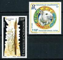 Nueva Caledonia Nº 1034-1035 Nuevo - Nuovi